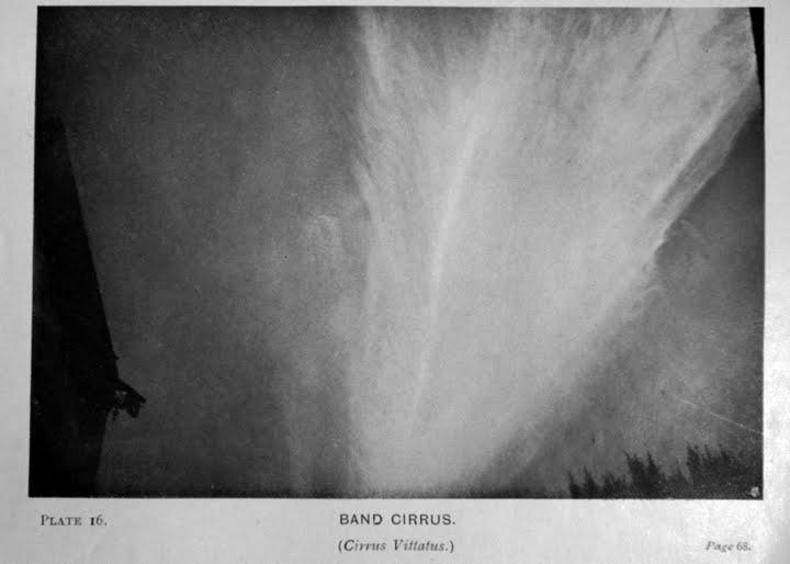 Chmura cirrus opisana w 1905