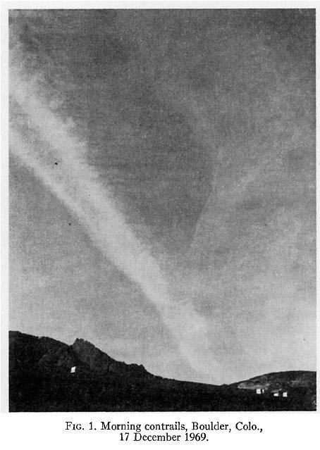 """Chemtraile"" w 1969"
