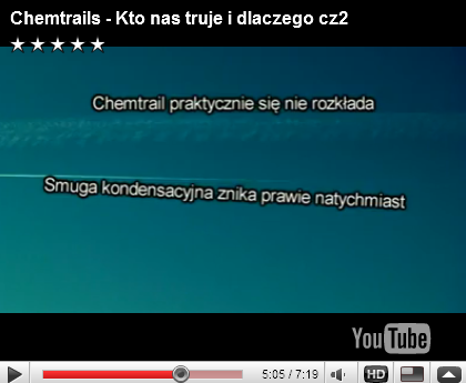 Porównanie Chemtraila z Contrailem :D