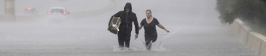 Houston: ostatnia doba opadów