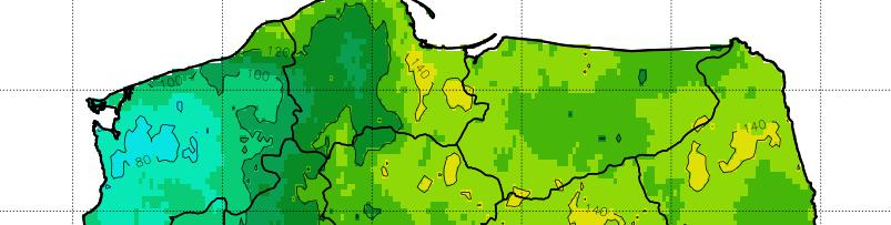 Usłonecznienie – EUMETSAT/SARAH #2 (agregacje)