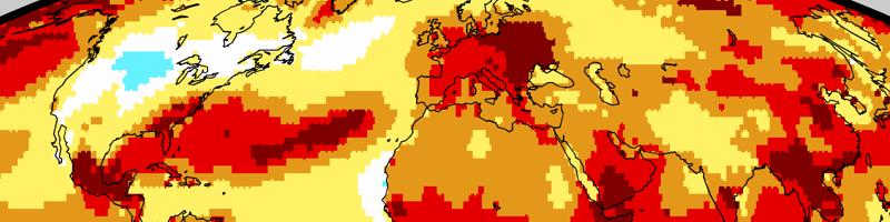 2019 globalnie drugim najcieplejszym rokiem w historii pomiarów instrumentalnych